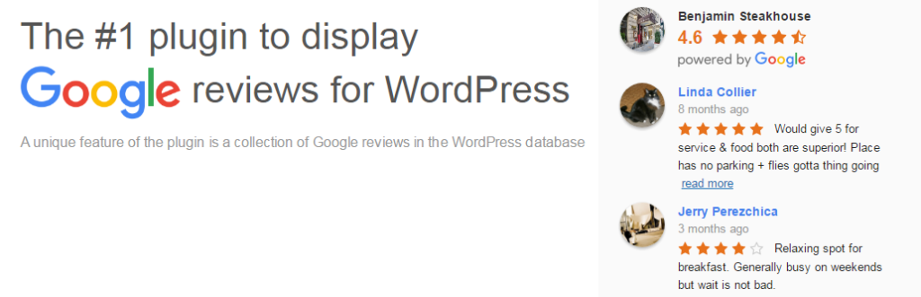 Best Google reviews plugin for WordPress