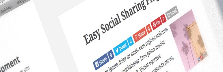Easy Social Share Buttons - Best Social Media Plugin for WordPress