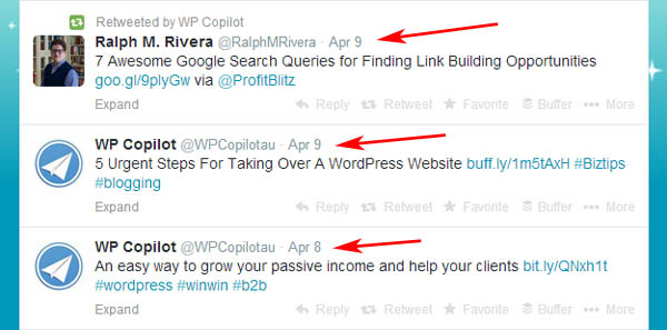embed tweets wordpress
