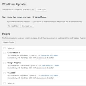 New WordPress Updates