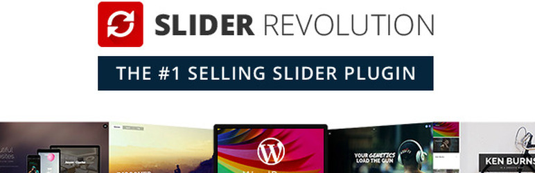 Slider Revolution - Best Slider Plugin For WordPress